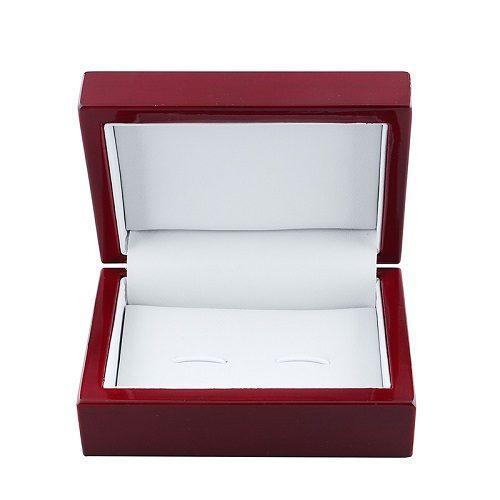 Mahogany Wooden Cufflink Box for Men