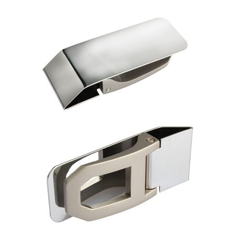 Stainless Steel Money Clip Side and Back