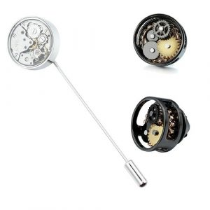 Steampunk Lapel Pins