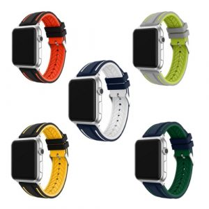 Silicone Sports Apple Watch Band for Men