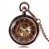 Steampunk Antique Open Face Pocket Watch