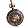 Steampunk Antique Open Face Pocket Watch - LHS View