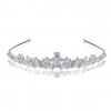 Princess Cubic Zirconia Bridal Headpieces