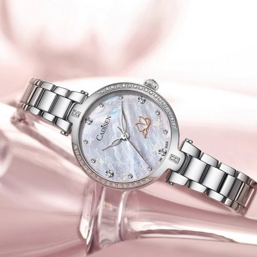 Crystal Stainless Steel Watch - Display 2