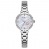 Crystal Stainless Steel Watch - Silver
