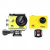 H9R 4K UHD Waterproof Sports Action Video Camera - Yellow