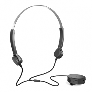 Hearing Assistant Wired Bone Conduction Headphone