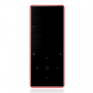 Slim Touch Wireless MP3 Player - Red
