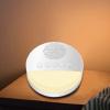 10 Sounds White Noise Sleep Sound Machine - Warm White Light