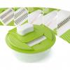 Stainless Steel Interchangeable Blades Fruit & Vegetable Mandoline Slicer Cutter