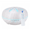 LED Light Essential Oil Diffuser with Remote - White Wood 550ml