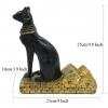 Resin Egyptian Cat Wine Bottle Holder - Dimension