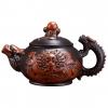 Dragon Art Classical Handmade Purple Clay Teapot - 350ml