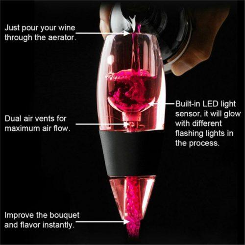 LED Wine Aerator - Key Features