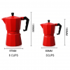 Stovetop Coffee Espresso Maker - Dimension