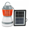 Solar Powered Portable Mosquito Repellent Zapper with LED Light