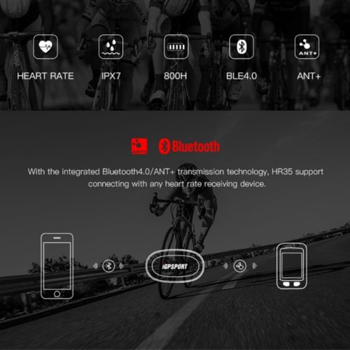 GPS BT Wireless 4 in 1 Bicycle Computer - Heart Rate Monitor Features