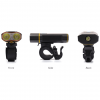 IP6 Waterproof Front Bicycle LED Headlight - All Views