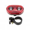 IP6 Waterproof Front Bicycle LED Headlight - Bonus Tail Light