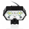 IP7 Waterproof 6000 Lumens Bicycle LED Headlight - Front View