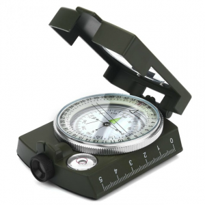 Luminous Lensatic Waterproof Outdoor Survival Camping Hiking Compass