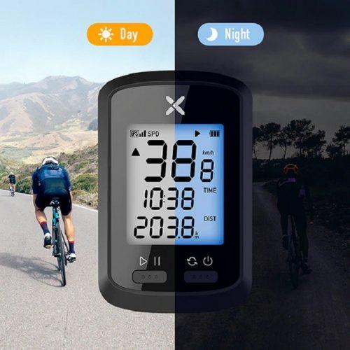 Smart Bike Speedometer Bicycle Computer - Day Night View