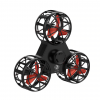 Circular Rotating Low Speed Flying Fidget Spinner - Side View