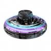 LED Light Up Flying Boomerang Fidget Spinner - Black
