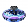 LED Light Up Flying Boomerang Fidget Spinner - Blue