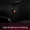 USB Rechargeable Mini LED Bicycle Rear Light - Flashing Demo