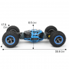 Remote Control 4WD Double Sided Vehicle - Dimension