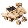 DIY Solar Powered Robot Space Vehicle Wooden Model Kit - Spirit Rover