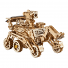 DIY Solar Powered Robot Space Vehicle Wooden Model Kit - Curiosity Rover