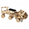 DIY Solar Powered Robot Space Vehicle Wooden Model Kit - Discovery Rover