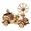 DIY Solar Powered Robot Space Vehicle Wooden Model Kit - Moon Buggy