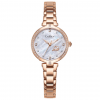 Crystal Stainless Steel Watch - Rose Gold