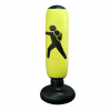 Free Standing Inflatable Boxing Bag - Yellow