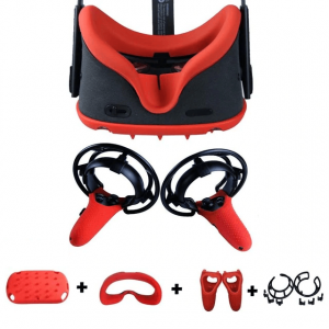 4 in 1 Oculus Quest VR Cover - Red