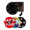Rotating Turntable Car Air Freshener - 3 Fragrance Discs